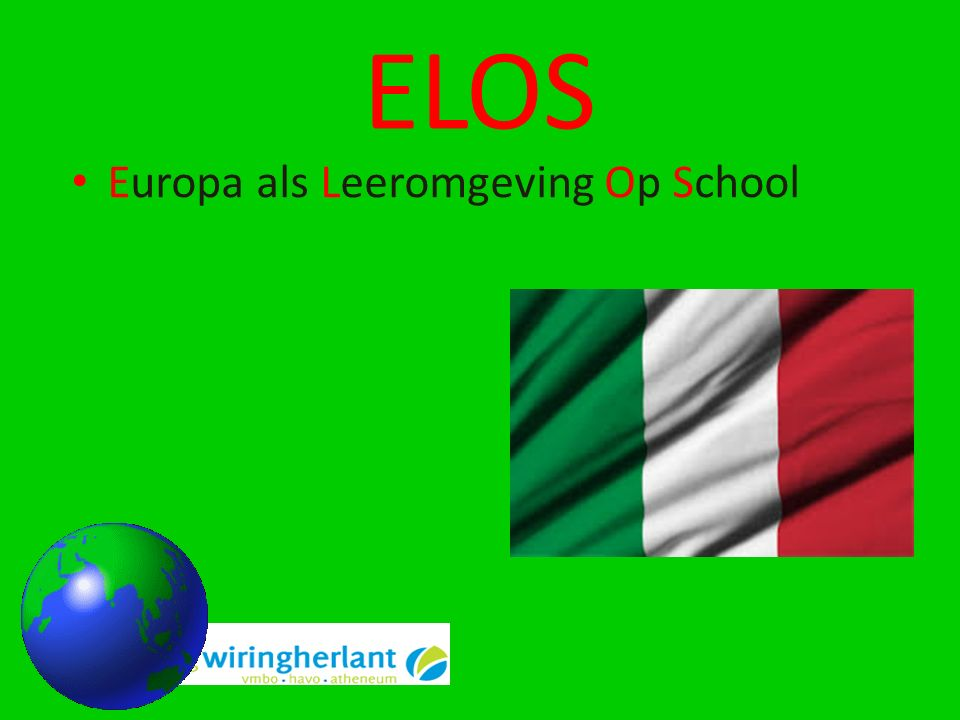 ELOS Europa als Leeromgeving Op School