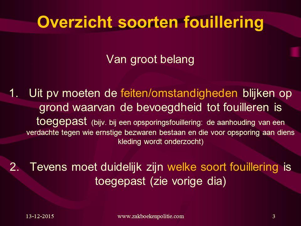 13-12-2015www.zakboekenpolitie.com44 Opsp.ambt.