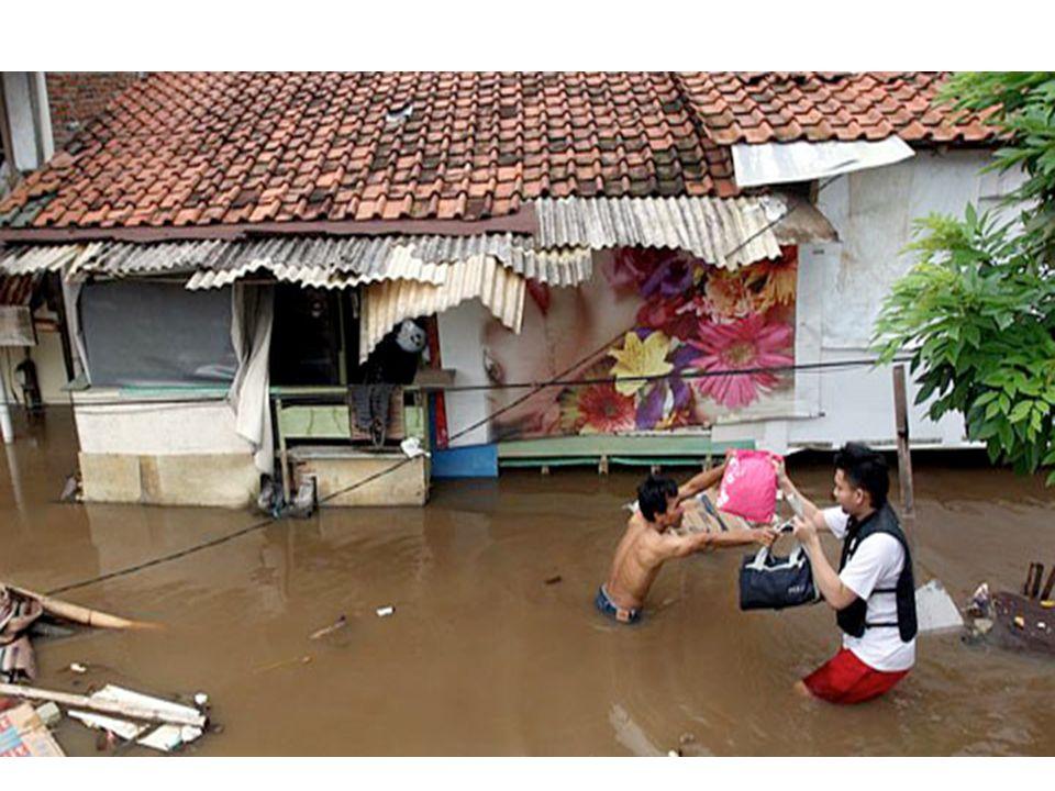 Oorzaak overstromingen.