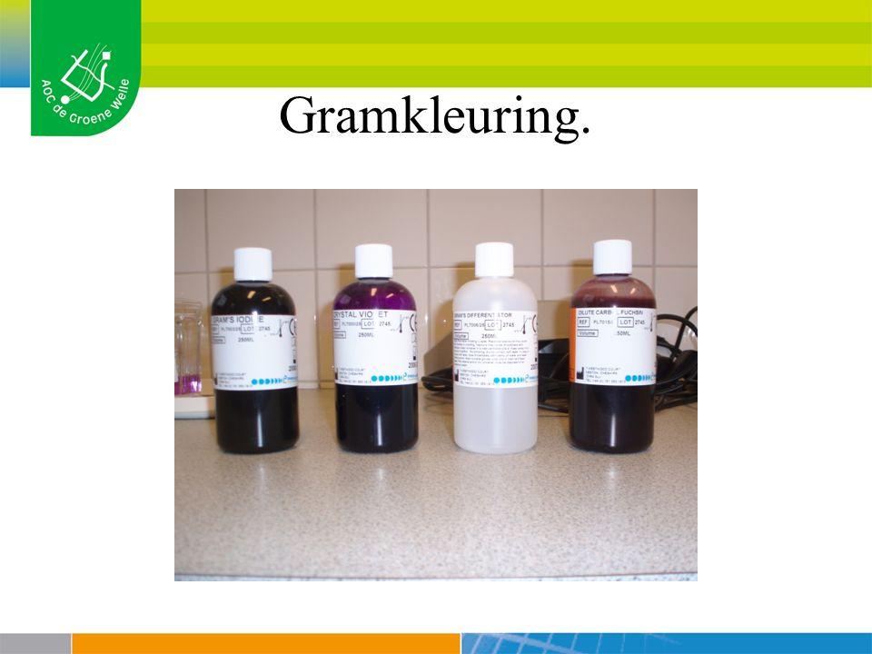 Gramkleuring.