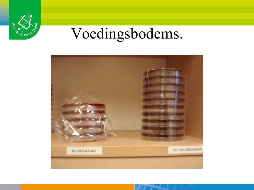 Voedingsbodems.