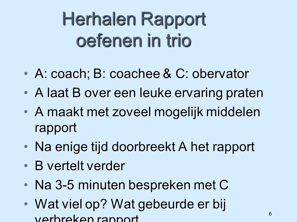 Coachingsmethodieken
