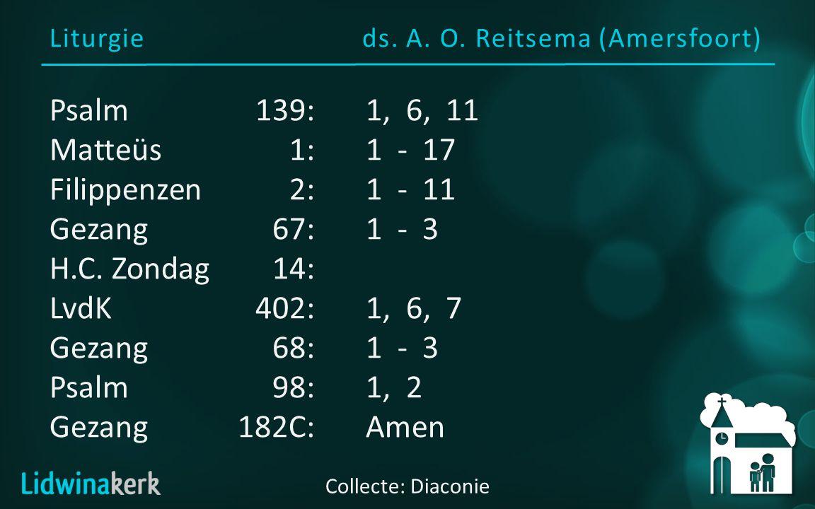 Liturgieds.A. O.