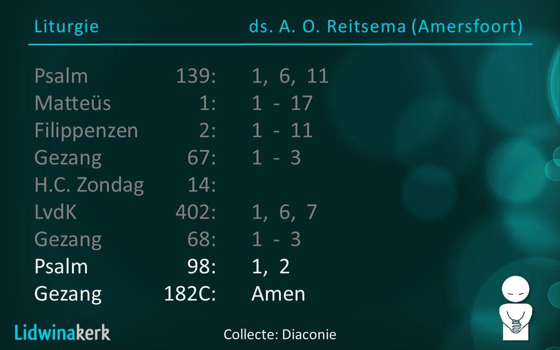 Liturgieds. A. O.