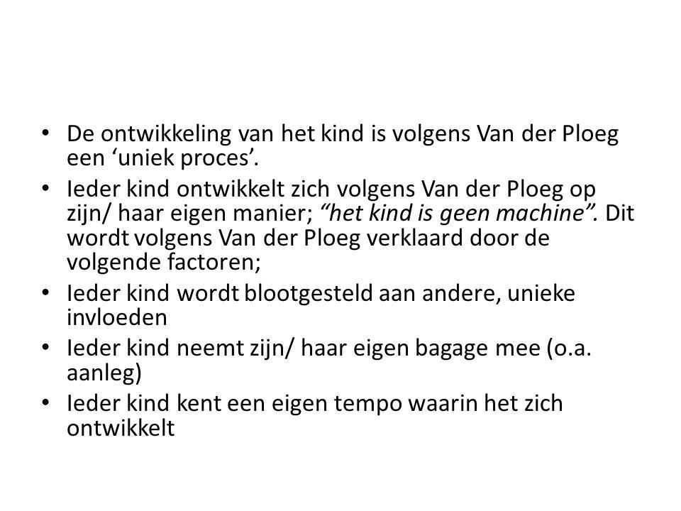 Omgang' is volgens Van der Ploeg gebaseerd op twee pijlers.