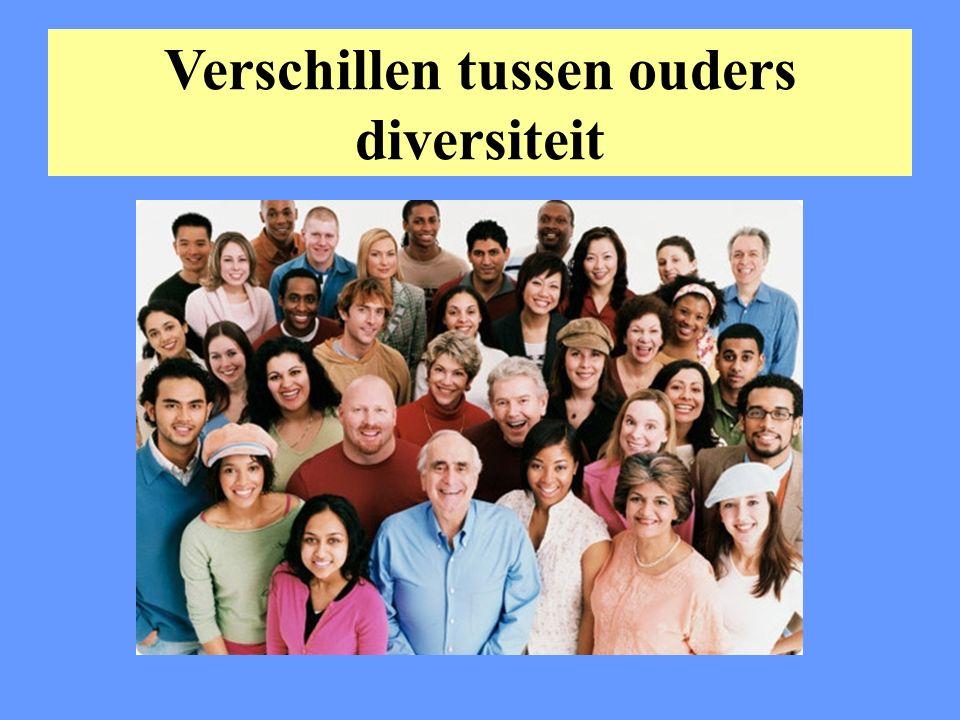 Verschillen tussen ouders diversiteit