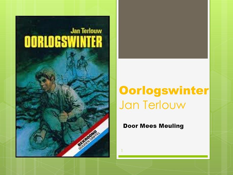 Oorlogswinter Jan Terlouw Door Mees Meuling 1