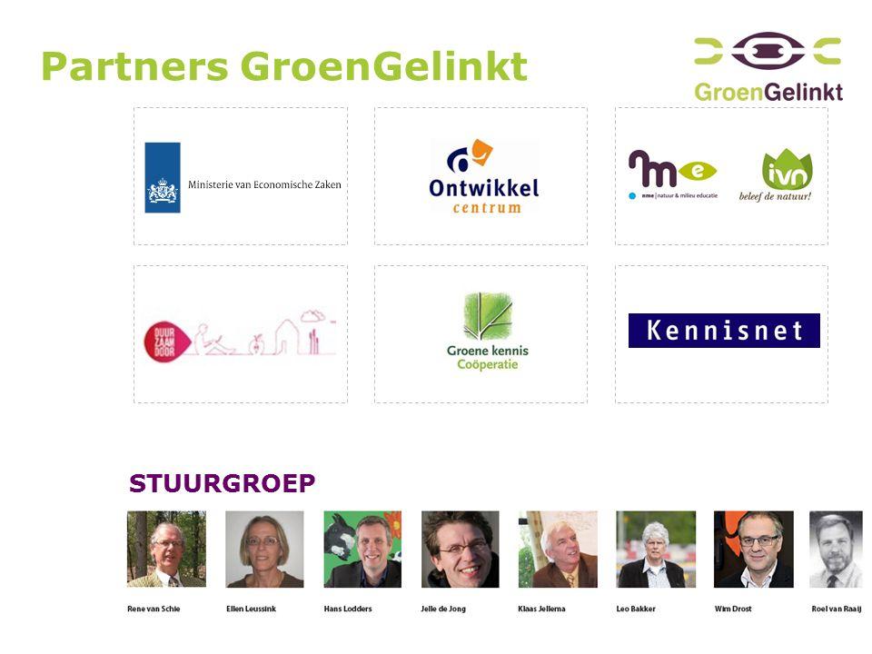 Partners GroenGelinkt STUURGROEP