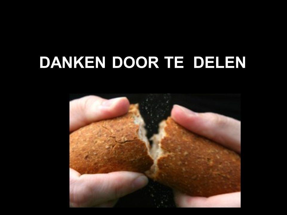 DANKEN DOOR TE DELEN