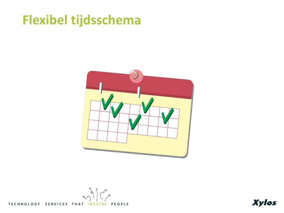 Flexibel tijdsschema