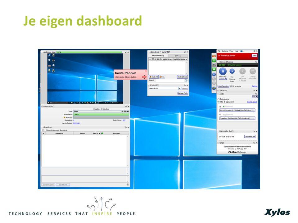 Je eigen dashboard