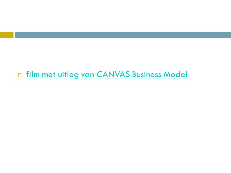  film met uitleg van CANVAS Business Model film met uitleg van CANVAS Business Model