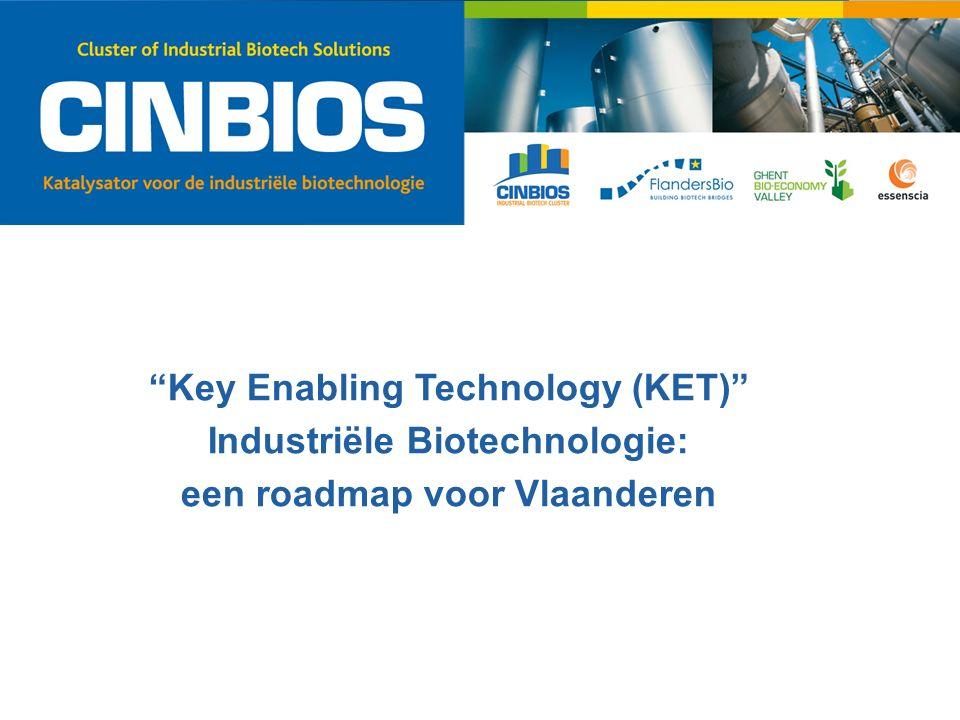 """""""Key Enabling Technology (KET)"""" Industriële Biotechnologie: een roadmap voor Vlaanderen"""