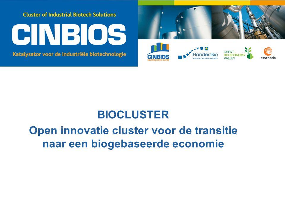 BIOCLUSTER Open innovatie cluster voor de transitie naar een biogebaseerde economie