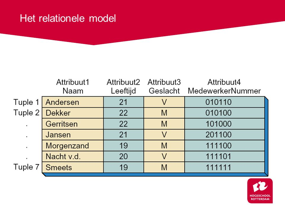 Het relationele model