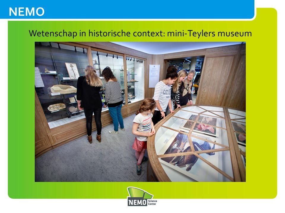 Wetenschap in historische context: mini-Teylers museum
