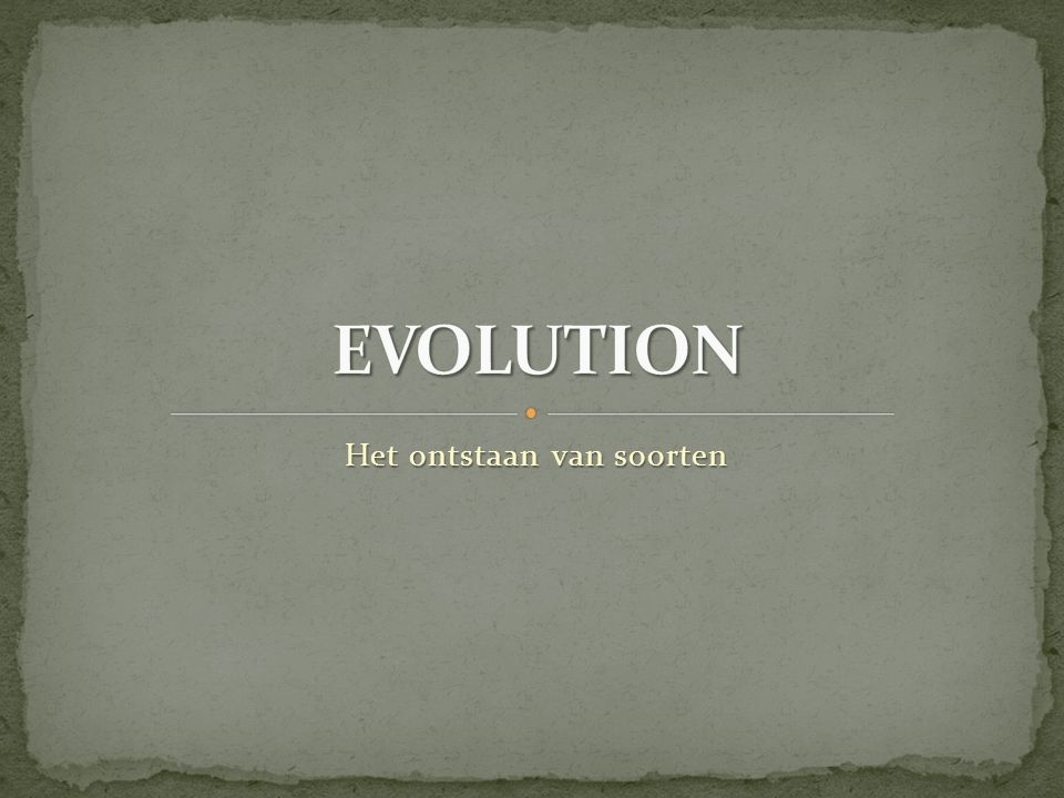 NOTHING IN BIOLOGY MAKES SENSE EXCEPT IN THE LIGHT OF EVOLUTION. (DOBZHANSKY 1973)