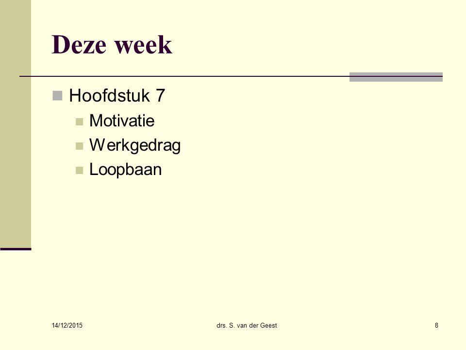Motief en motivatie People management.Wat maakt jouw werk leuk.