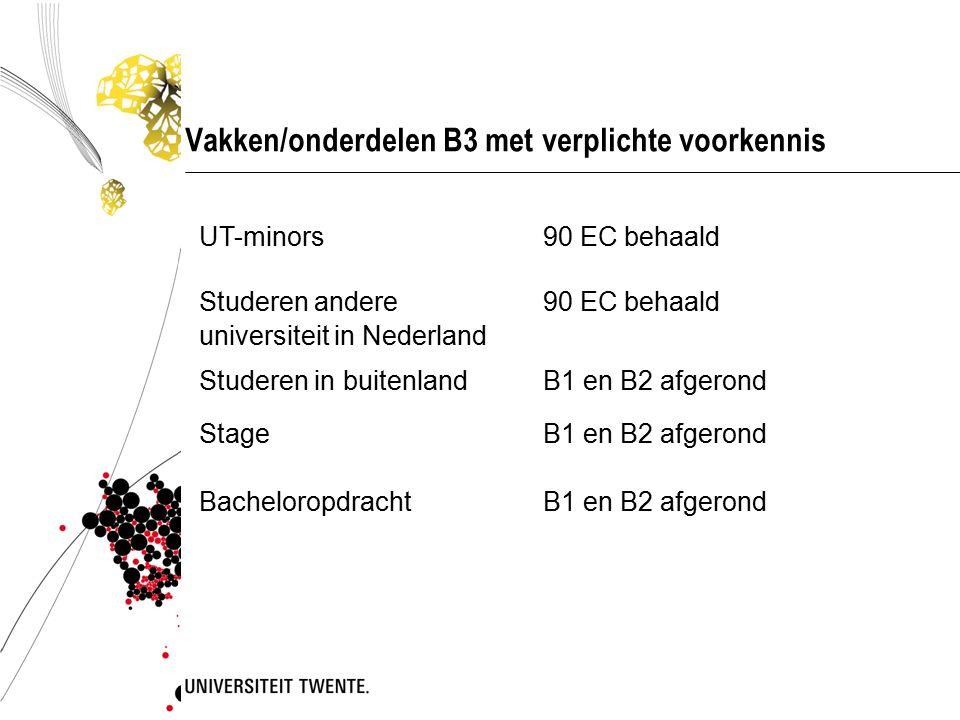 UT-minors Zie de minorsite op https://www.utwente.nl/onderwijs/keuzeruimte/minor/ https://www.utwente.nl/onderwijs/keuzeruimte/minor/  HTHT-minors  Aanschuifminors  Studeren in het buitenland (Exchange)