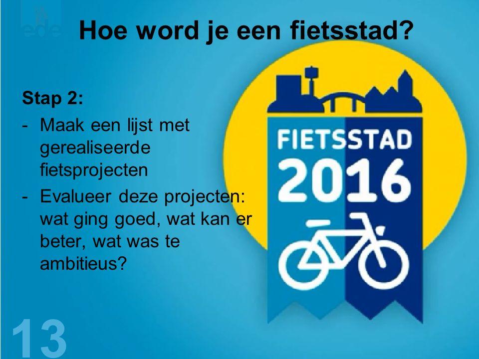 14 Hoe word je een fietsstad.