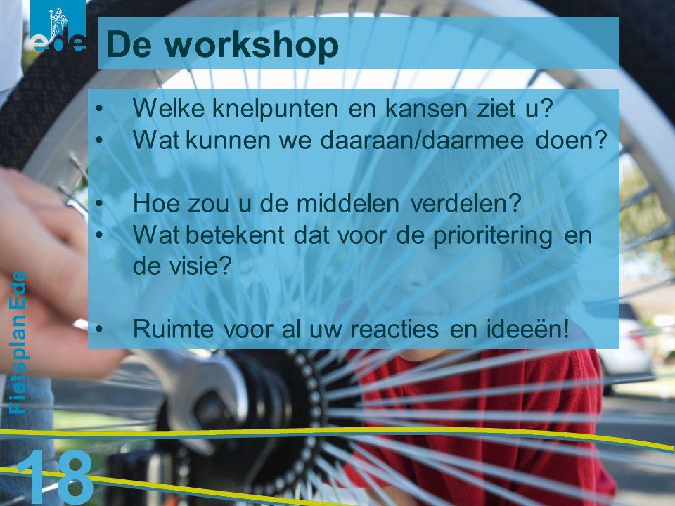 19 Hartelijk dank! Voor vragen en suggesties: bas.hendriksen@ede.nl