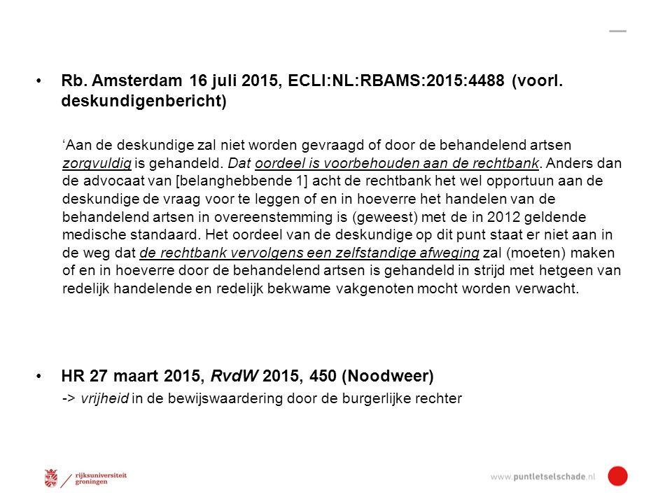 Rb.Amsterdam 16 juli 2015, ECLI:NL:RBAMS:2015:4488 (voorl.