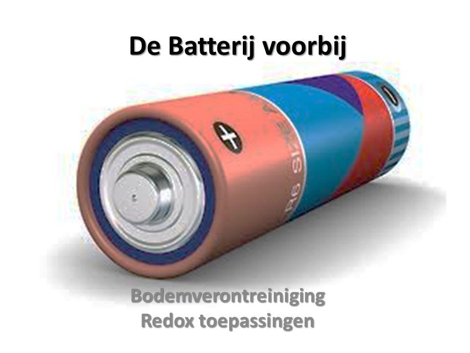 De Batterij voorbij Bodemverontreiniging Redox toepassingen