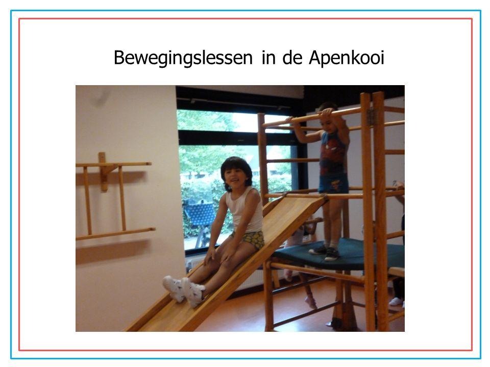 Werkles Bewegingslessen in de Apenkooi
