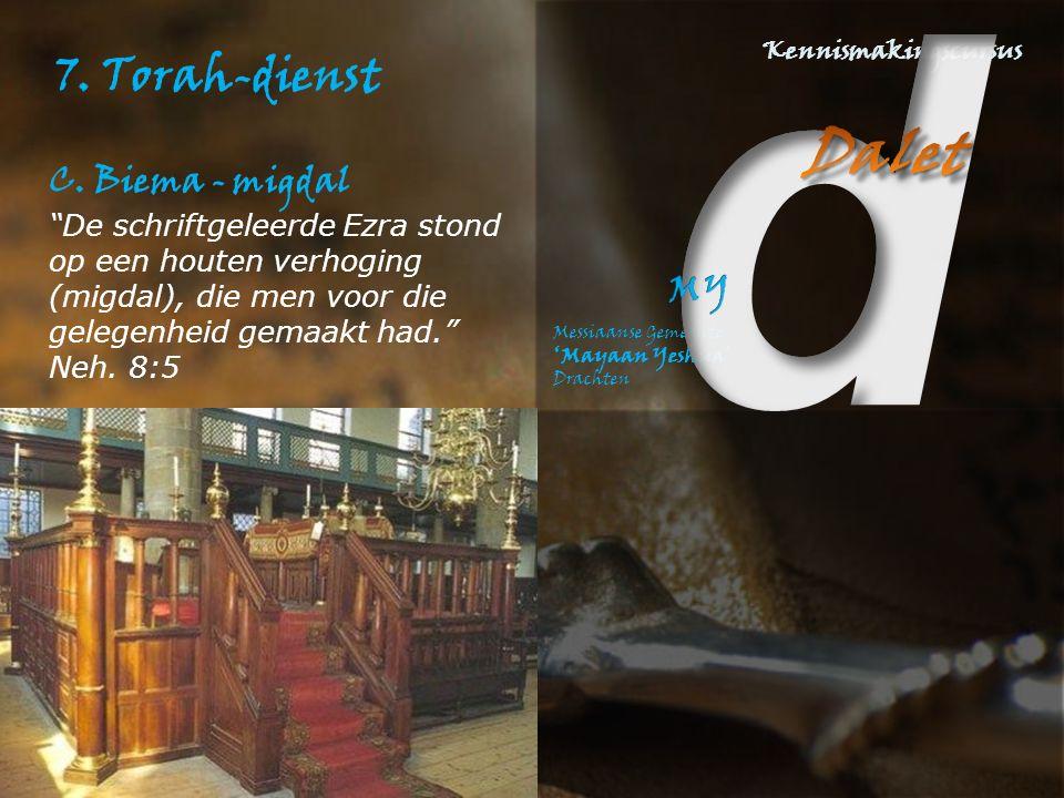 7. Torah-dienst C.