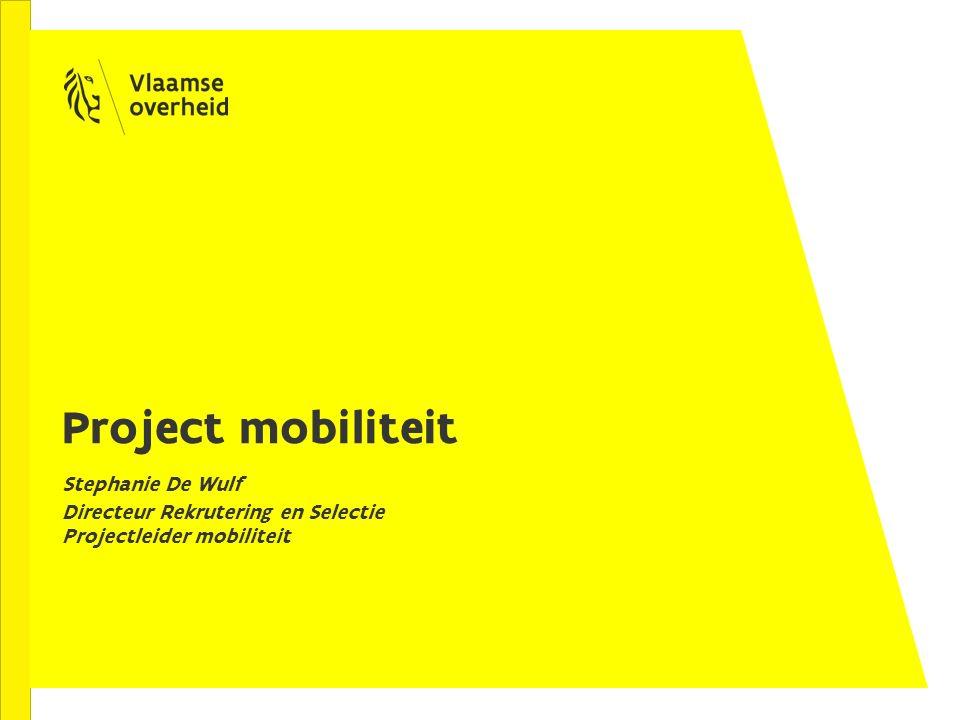 Historiek Nota CAG 2012 Nota Mobiliteit april 2015 Visienota Mobiliteit juli 2015 Al opgestart: Projectplan Flexpunt Outplacement Multidisciplinair overlegorgaan Pool loopbaanbegeleiders Representatieve vertegenwoordiging VO (RWO: voorlopig geen afvaardiging)