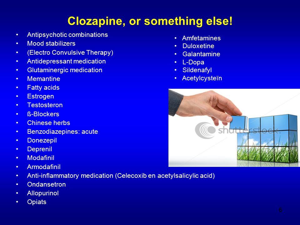 Adding an antipsychotic to an antipsychotic randomised, not necessarily blinded studies 2 meta-analyses on AP + clozapine 1 meta-analysis on AP + AP 1 meta-analysis on sulpiride + clozapine Taylor & Smith.