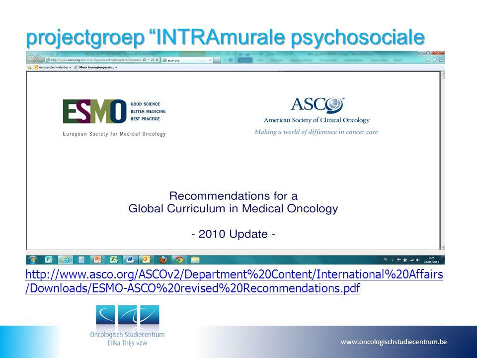 projectgroep INTRAmurale psychosociale zorg 5.SMART .