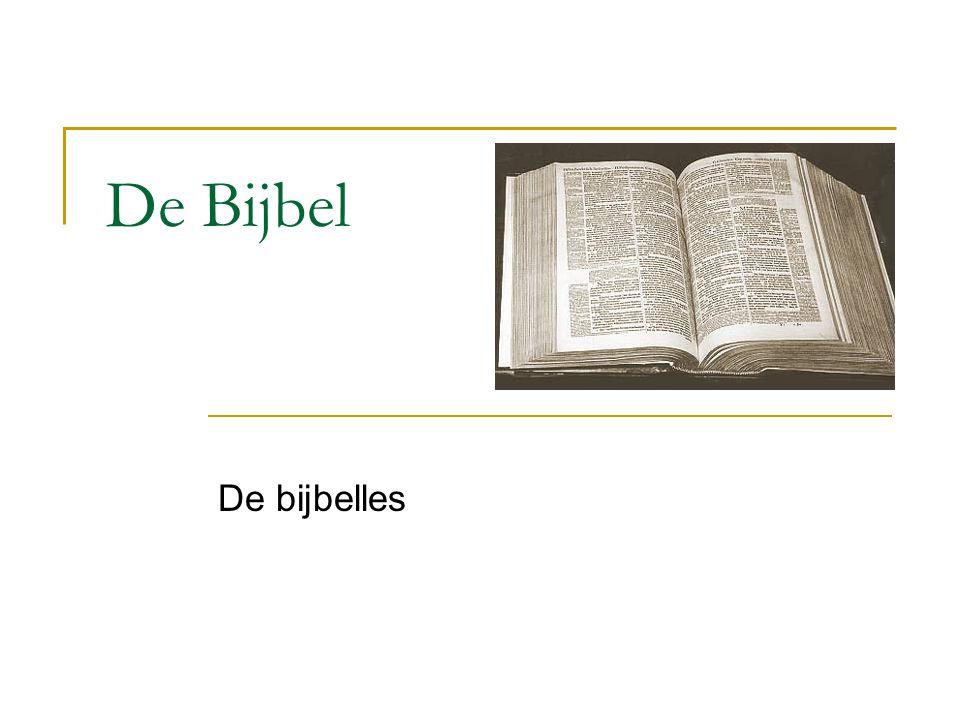 De Bijbel De bijbelles
