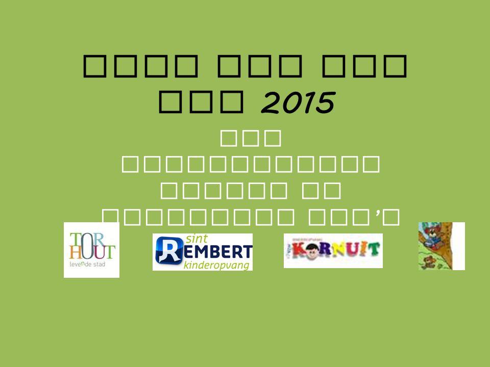 Week van het IBO 2015 Een samenwerking tussen de Torhoutse IBO ' s