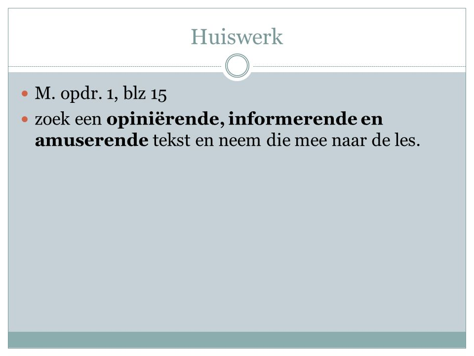 Huiswerk M.opdr.