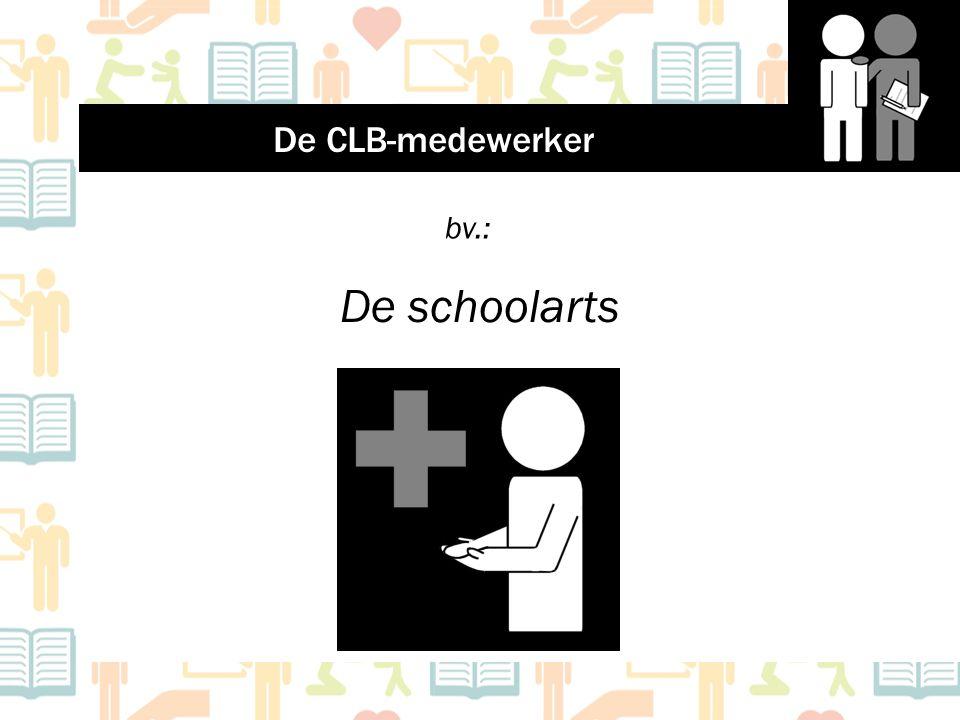 De schoolarts bv.: De CLB-medewerker