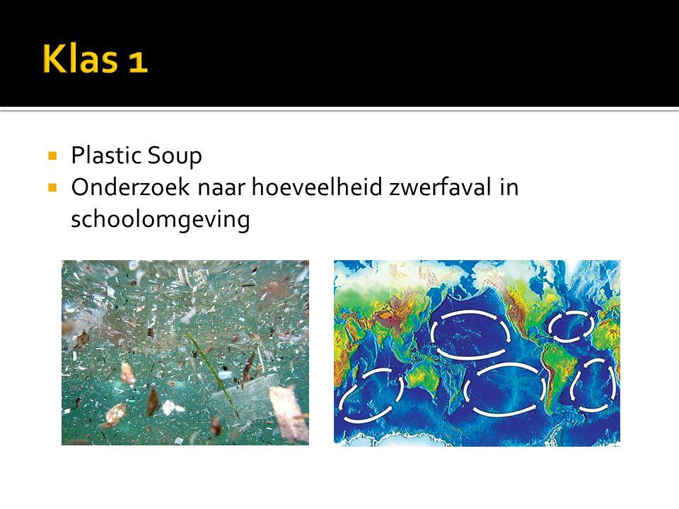  Plastic Soup  Onderzoek naar hoeveelheid zwerfaval in schoolomgeving