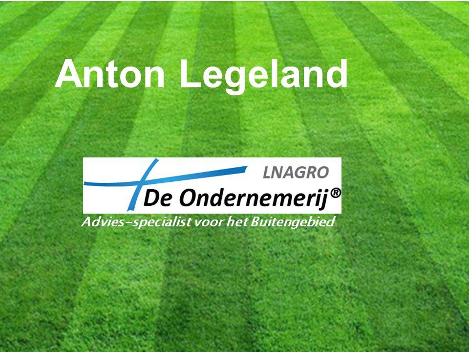 Anton Legeland Advies-specialist voor het Buitengebied