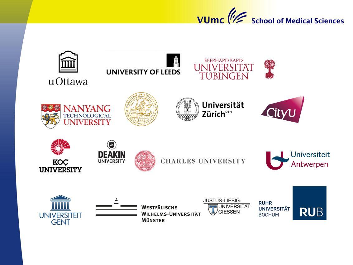Scholarship - Globe Voor studenten buiten Europa Totaal € 1250,- Aanmelden via VUnet na selectie.