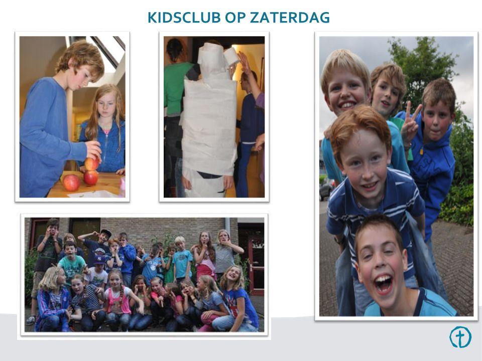 KIDSCLUB OP ZATERDAG