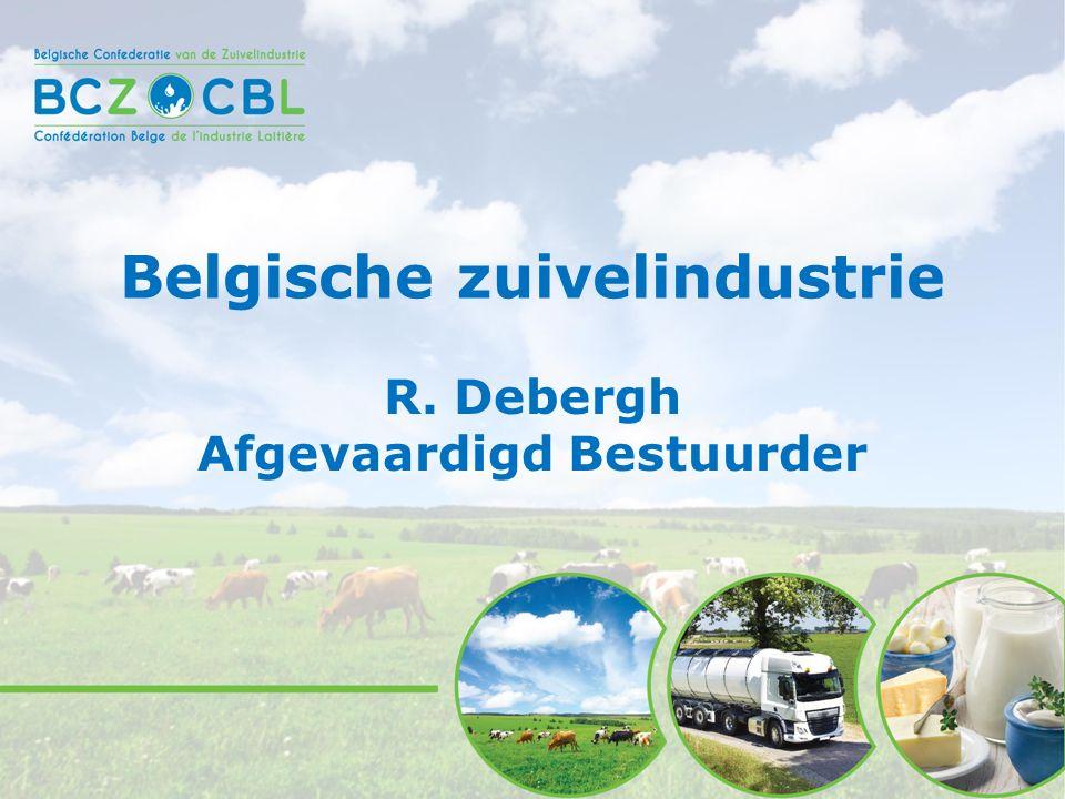 2BCZ - CBL info Belgian Dairy Industry Milk deliveries in EU : 2014 - 2005 (in %) 17.11.2015