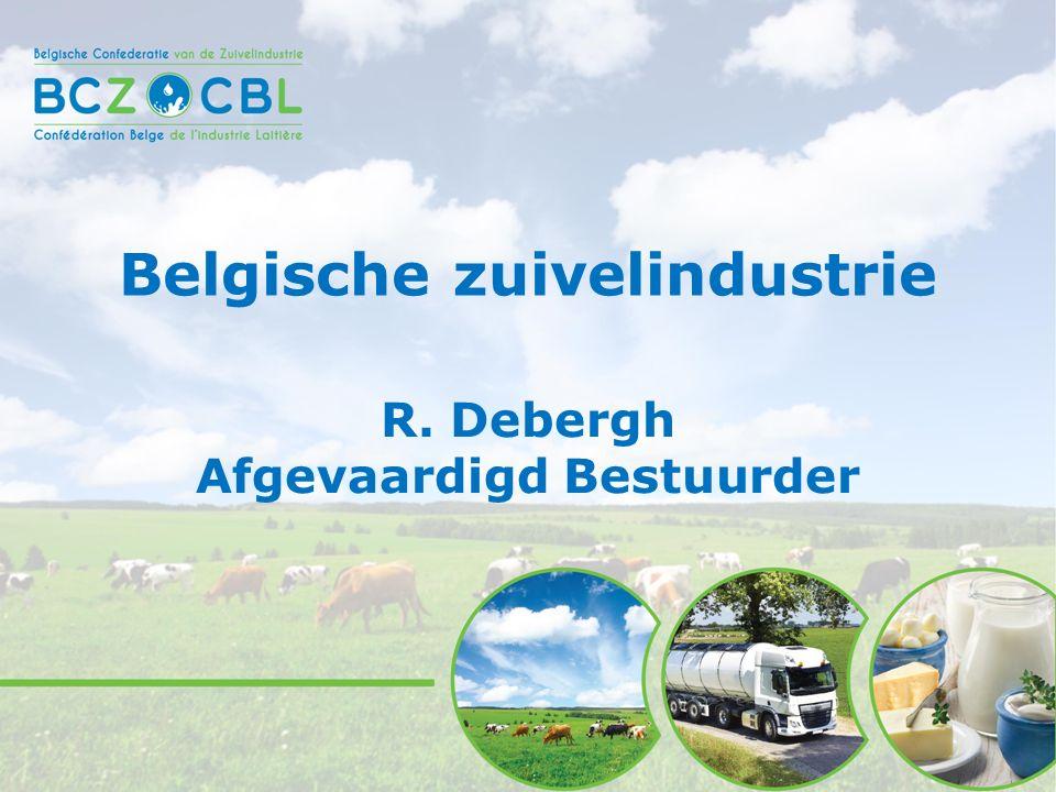 Belgische zuivelindustrie R. Debergh Afgevaardigd Bestuurder
