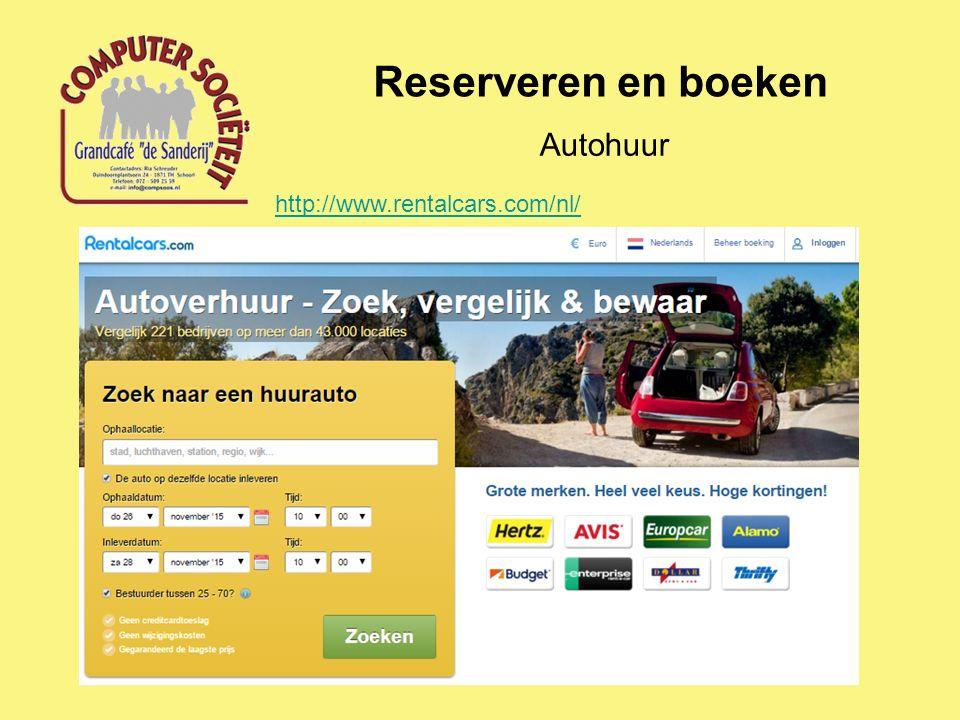 Reserveren en boeken Autohuur http://www.rentalcars.com/nl/