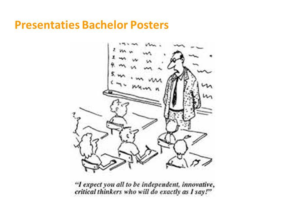 Presentaties Bachelor Posters