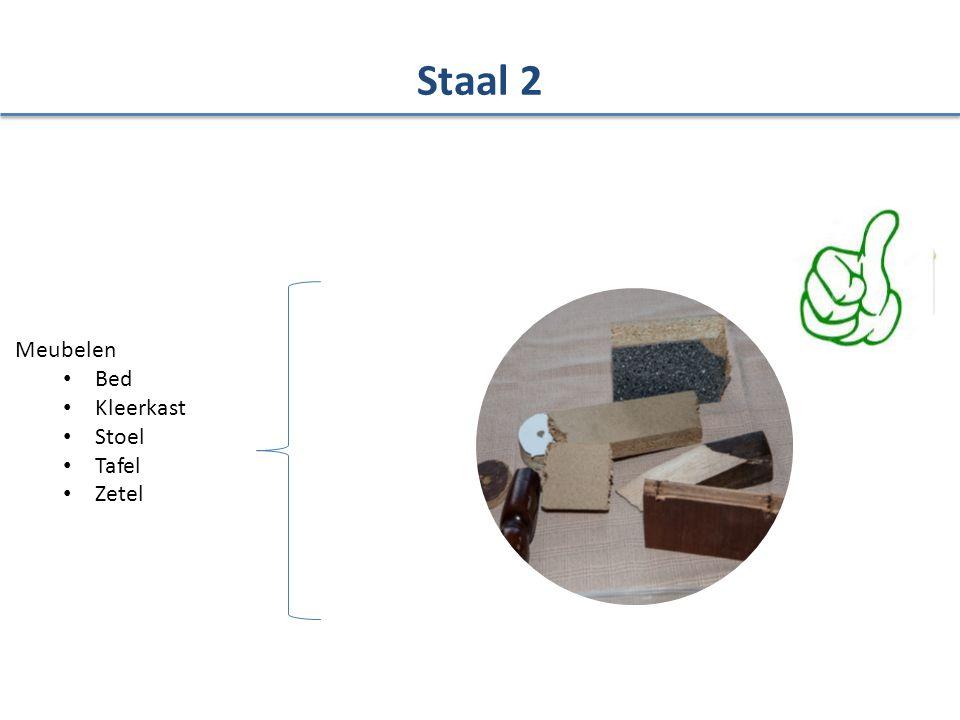 Meubelen Bed Kleerkast Stoel Tafel Zetel Staal 2