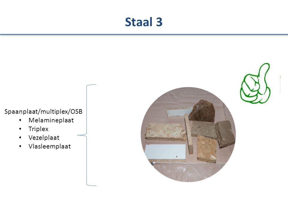 Spaanplaat/multiplex/OSB Melamineplaat Triplex Vezelplaat Vlasleemplaat Staal 3