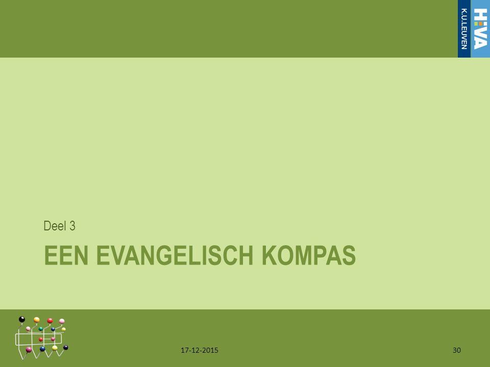 EEN EVANGELISCH KOMPAS Deel 3 17-12-201530
