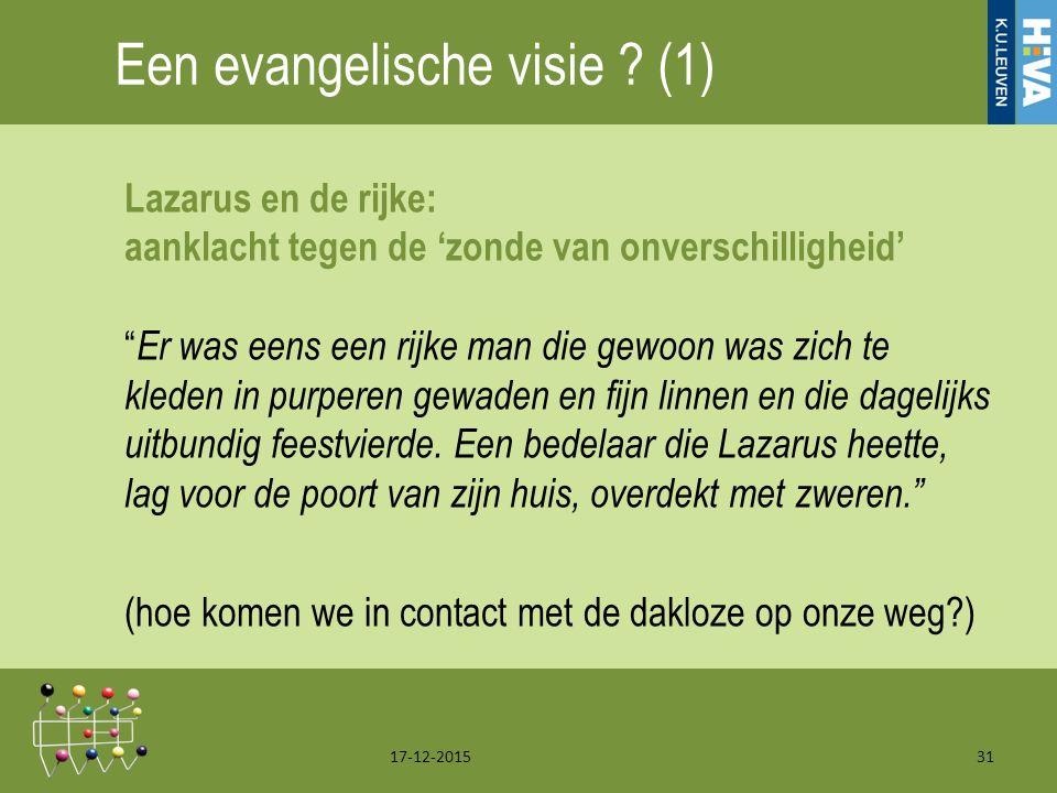 Een evangelische visie .