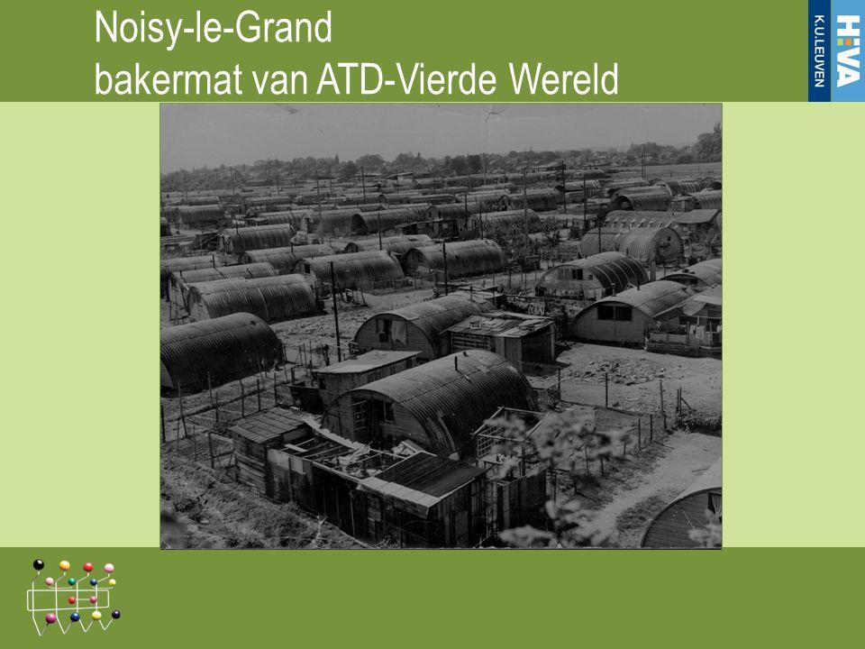 Noisy-le-Grand bakermat van ATD-Vierde Wereld