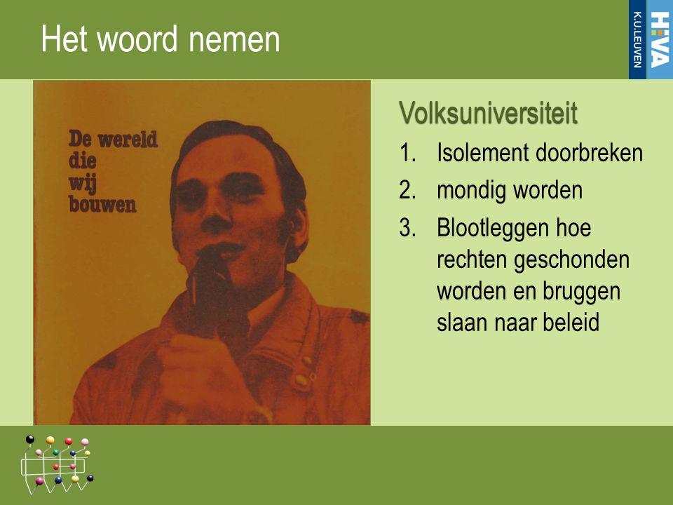 De Vlaamse Vierde Wereld Volksuniversiteit